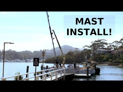 We Visit Morning Bay and Mast is Reinstalled