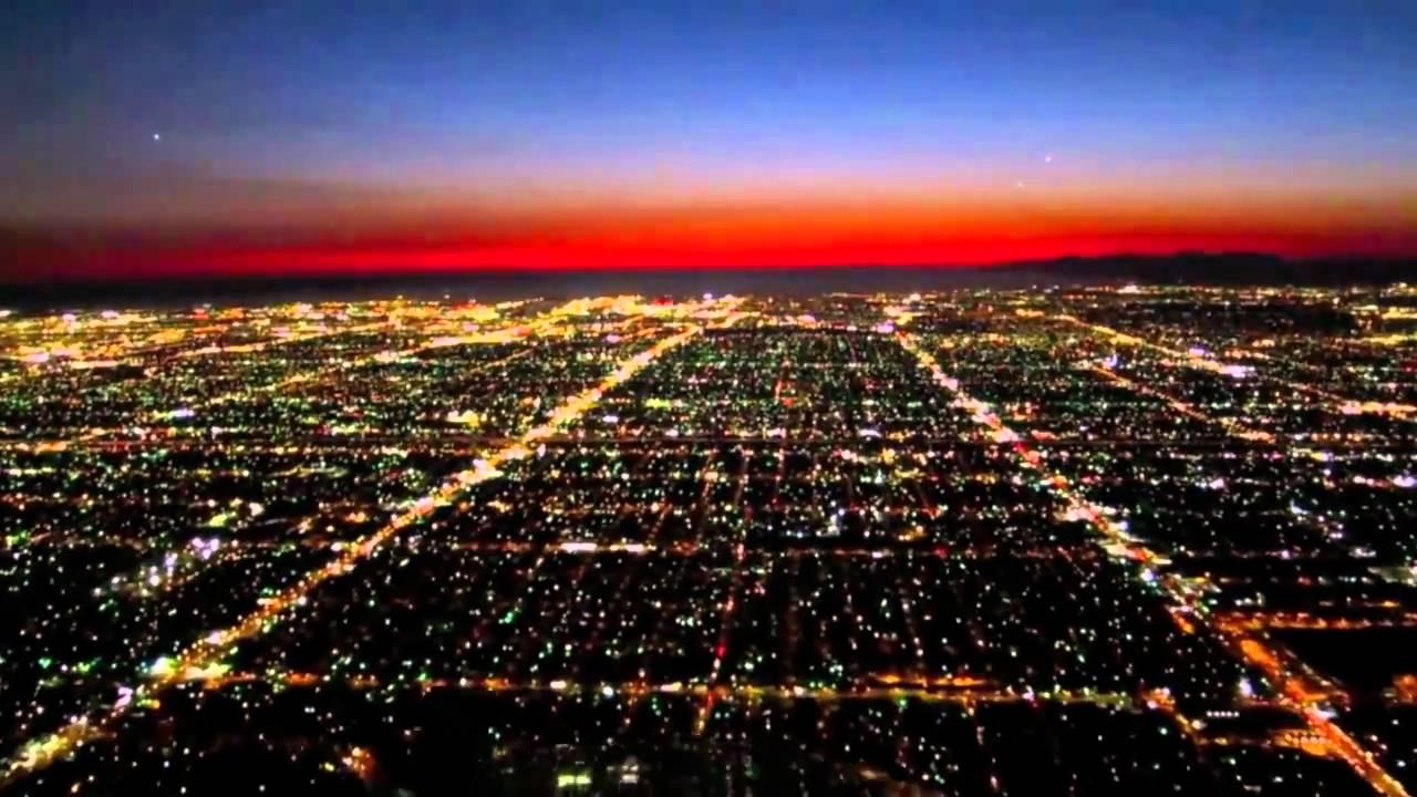 Twilight Landing At Lax Koyaanisqatsi Mash Up Youtube