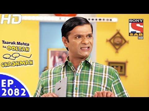 Taarak Mehta Ka Ooltah Chashmah - तारक मेहता - Episode 2082 - 29th November, 2016