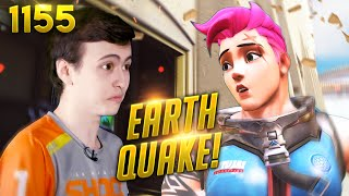 *WTF* L.A Earthquake OCCURS MID-GAME!! | Overwatch Daily Moments Ep.1155 (Funny and Random Moments)