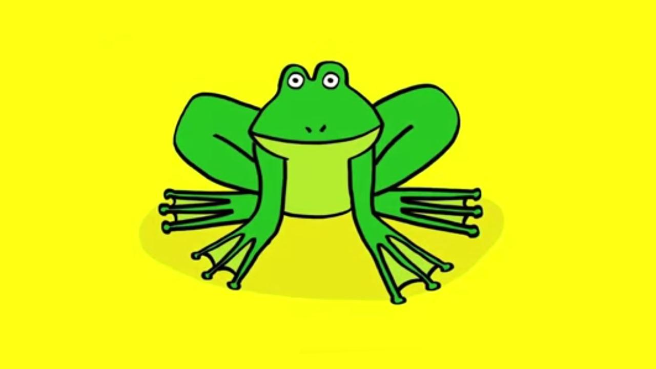 Comment dessiner une grenouille youtube - Dessin de grenouille a imprimer ...
