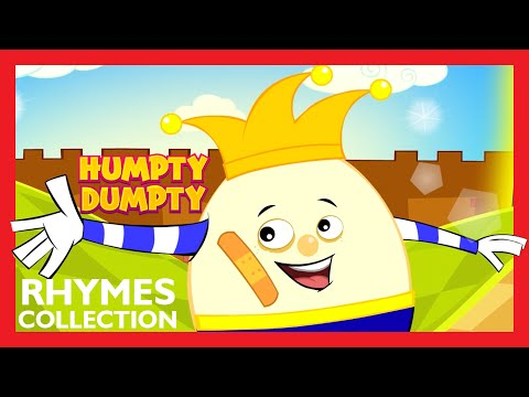 Humpty Dumpty Nursery Rhyme Collection For Kids | Best Rhymes For All