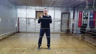 Профи бокс. Урок 2. Защита  корпусом в движении.