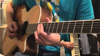 Repeat youtube video Wii Shop Channel Smooth Jazz Guitar & Accordion Cover
