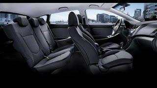 Перетяжка и стирка сидения Hyundai Solaris Rio