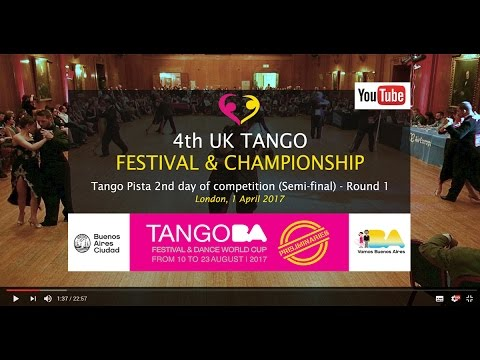 Tango Pista 2nd day of competition 2017 - Round 1