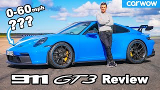 Porsche 911 GT3 review - its 'true' 0-60mph and 1/4 mile times will shock you!
