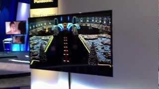 CES 2013 Panasonic Largest 4K OLED TV 56 inch (Like Sony 4K OLED)
