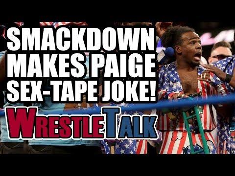 Paige Sex Tape Joke! John Cena RETURNS! | WWE Smackdown Live, July 4, 2017 Review