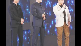 [Falling Love] Salman, Shahrukh & Aamir together on one stage create Big history