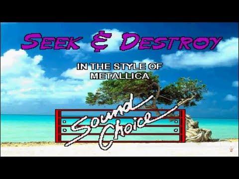 Karaoke Metallica - Seek And Destroy