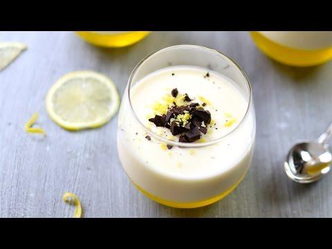 Easy Lemon Panna Cotta