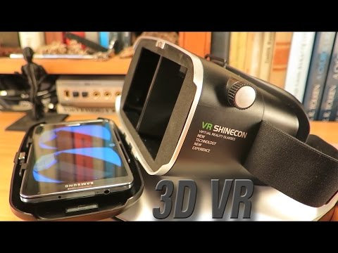 VR Shinecon 3D Virtual Reality Glasses and Smartphones