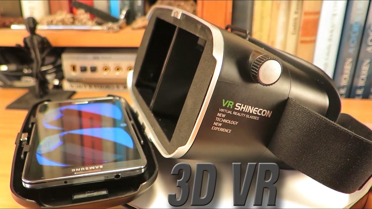 8f95e341acf6 VR Shinecon 3D Virtual Reality Glasses and Smartphones - YouTube
