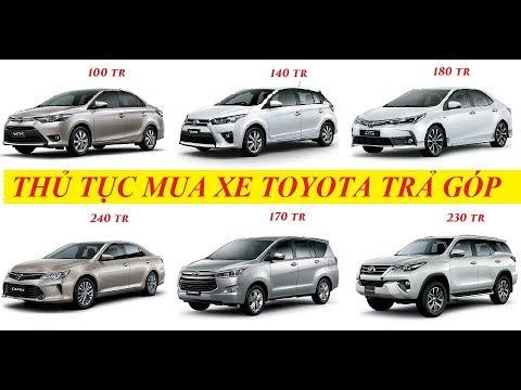 Mua Xe Toyota Trả Góp đưa Trước Bao Nhiêu   Thủ Tục Trả Góp Như Thế Nào   0948.11.55.22