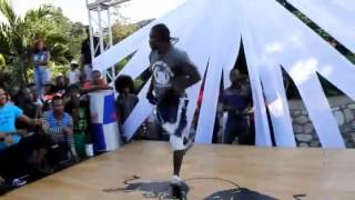 FULL BATTLE!!! Breakdance Jamaica Face Off 2014: Ocho Rios vs Kingston 7 vs 7