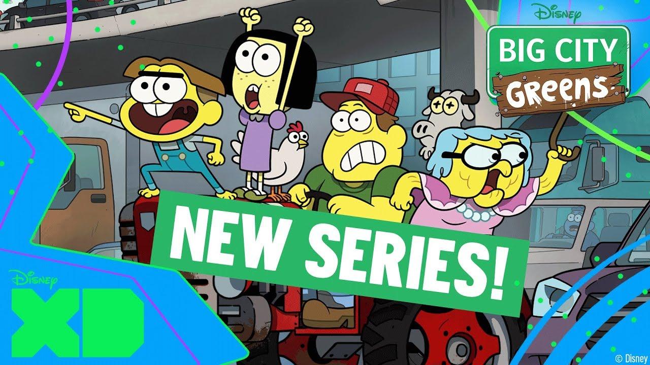 Big City Greens New Episodes Monday To Friday Disney