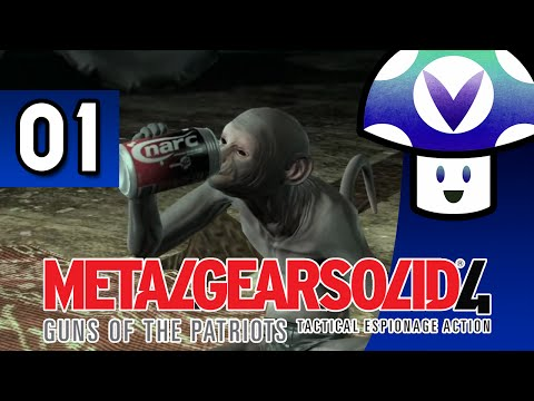 [Vinesauce] Vinny - Metal Gear Solid 4: Guns of the Patriots (part 1) + Art!