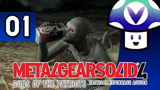 [Vinesauce] Vinny - Metal Gear Solid 4: Guns of the Patriots (part 1) + Art!