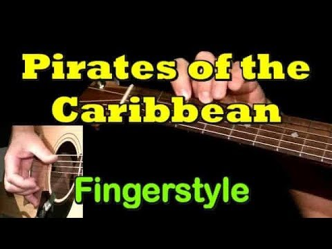 PIRATES OF THE CARIBBEAN: Fingerstyle Guitar Lesson + TAB by GuitarNick