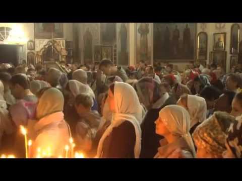 Рен ТВ Кропоткин о Пасхе в Покровском соборе