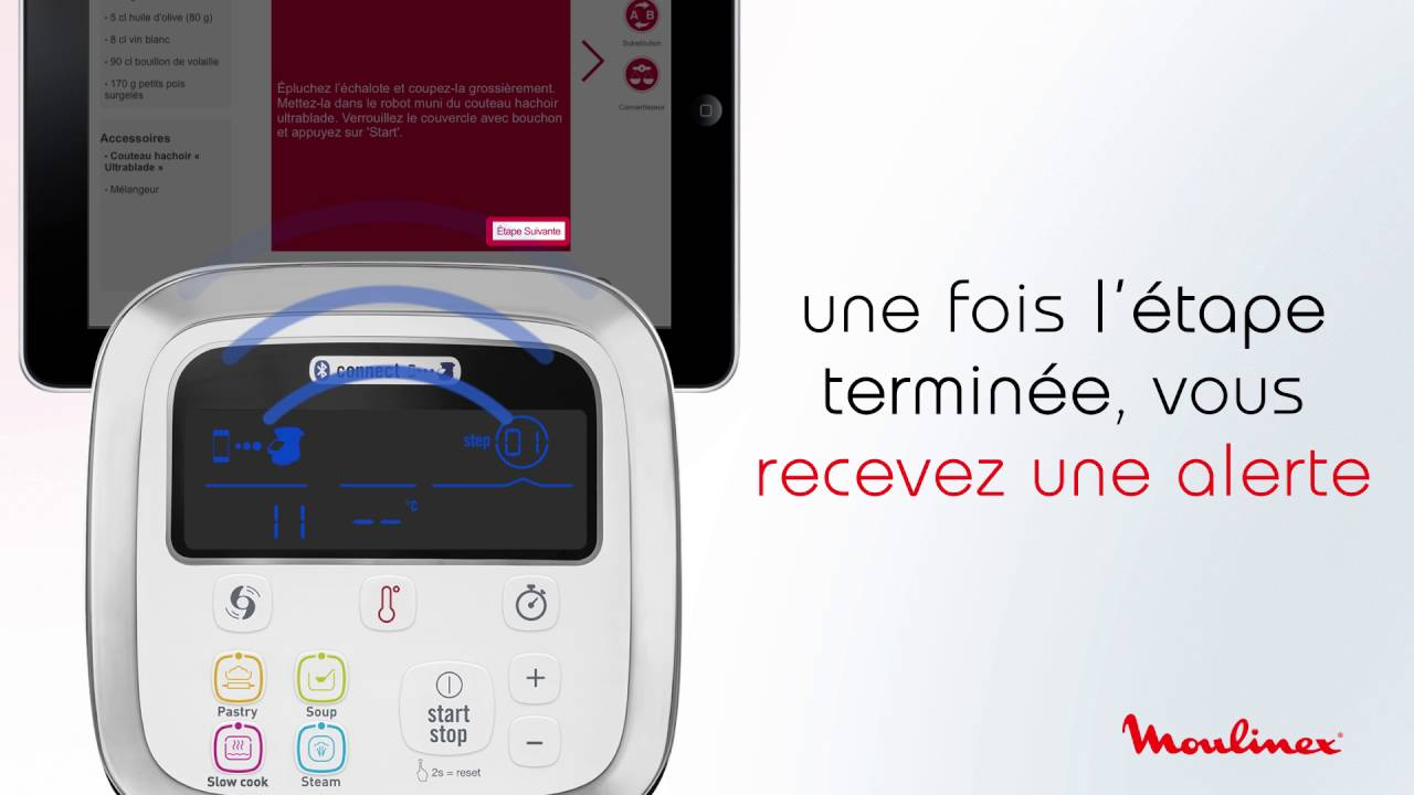 good out x sleek buying now Démarrer une recette connectée avec i-Companion