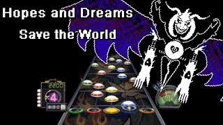 Guitar Hero Custom: Hopes and Dreams/Save the World (Metal Cover by RichaadEB) - Undertale