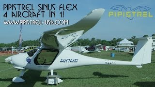 Pipistrel Sinus Flex motor glider – now 3 or is that 4 aircraft in 1!