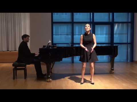 Johanna Vargas. Amor op. 68 von Richard Strauss