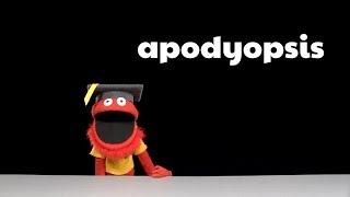Mario's Word of the Week - Apodyopsis
