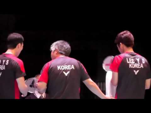 Highlight Lee Yong Dae Yoo Yeon Seong vs Fu Haifeng Zhang Nan | Badminton fast and furious