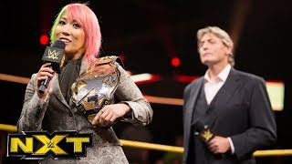 Asuka Relinquishes The NXT Women's Title To Seek New Challengers: WWE NXT, Sept. 6, 2017