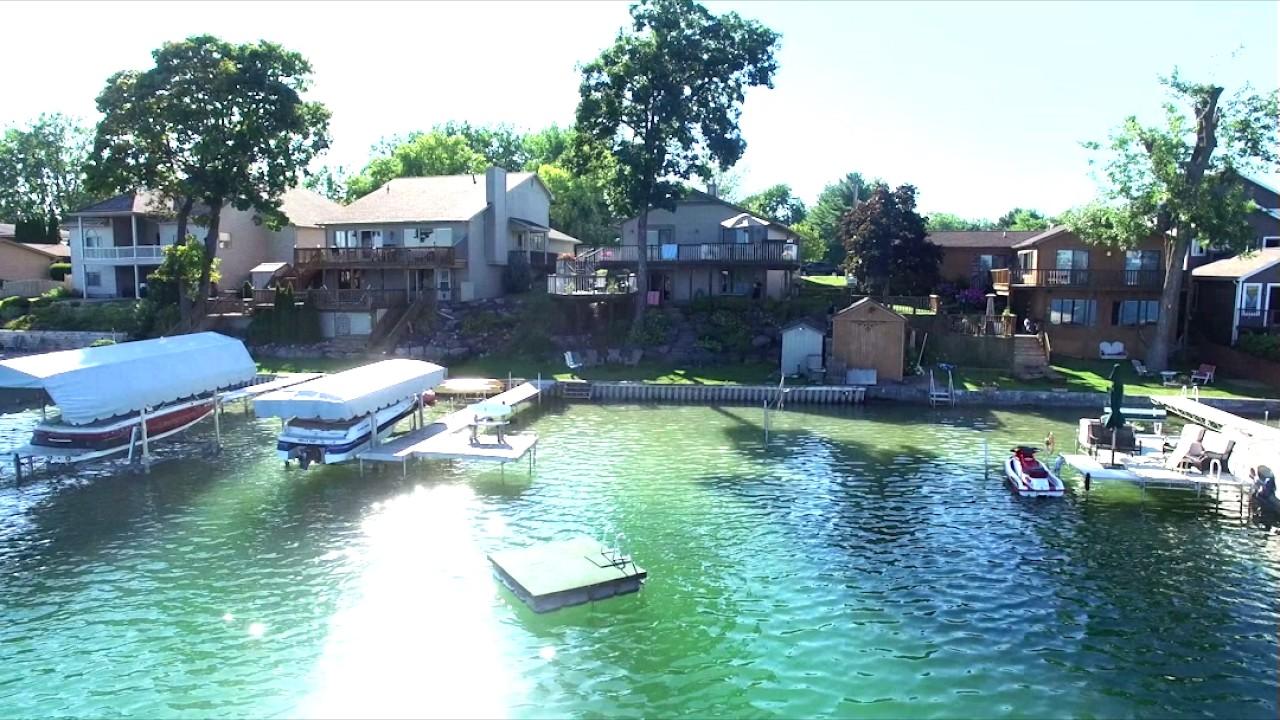 Silver Lake Fenton Michigan Summer Real Estate Video Shot By Apex Views