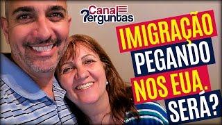 imigração pegando nos eua será mesmo? ✔