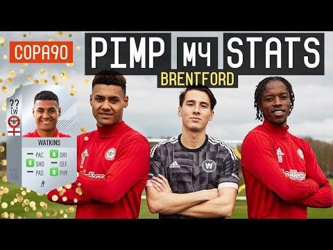 Brentford FC Pimp My FIFA Stats! ft. Ollie Watkins & Romaine Sawyers