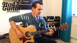 how to play Daithi De Nogla   Unloved Loving Guitar lesson