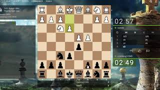 Chess online: Nice Checkmate With Queen Blitz Chess 2019 on Lichess