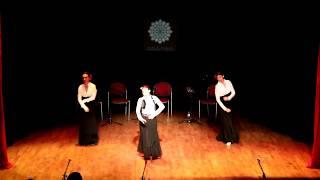 Melis Cangüler Azulmavi Flamenko Akademi 2017 Sene Sonu Gösterisi