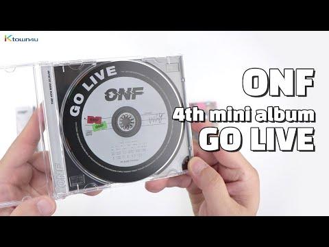 "Unboxing ONF ""GO LIVE"" The 4th Mini Album, 온앤오프 언박싱 Kpop Ktown4u"
