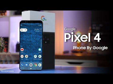 Google Pixel 4 XL LIVE Hands On