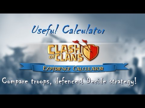 Download Clash of Clans calculator for android/iphone decide strategy! compare troops and defence!