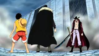 Mihawk Vs Mr 1 & Crocodile