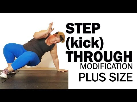 plus size step through kick through modification 80 day obsession