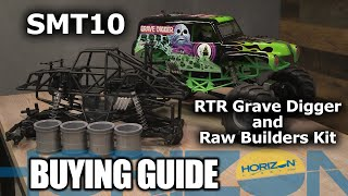 Load Video 2:  Axial 1/10 SMT10 Grave Digger 4wd Monster Truck RTR