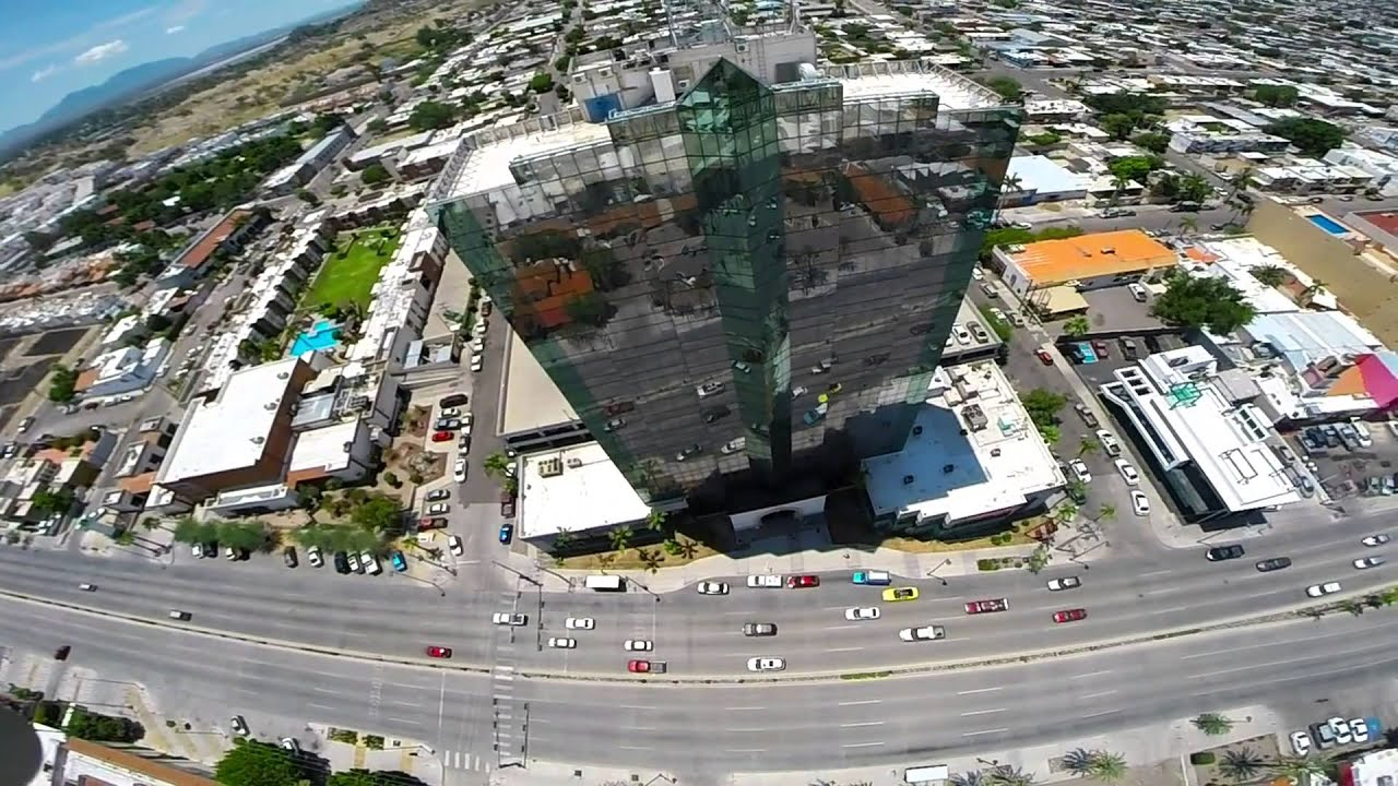 foto de torre de hermosillo vuelo YouTube