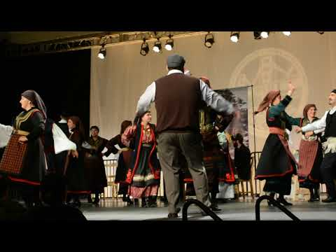 Seismos, Advanced Seniors, Semifinals, FDF 2018, Oakland, Ascension Greek Orthodox Cathedral