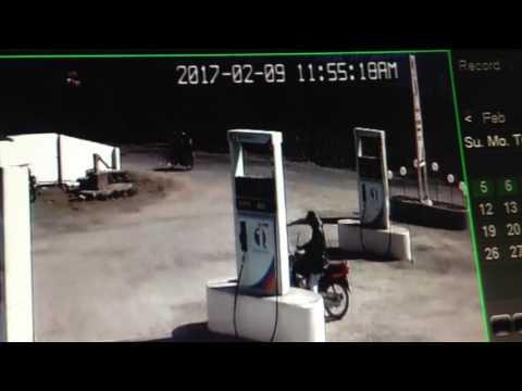 Cctv accident in arabemirate petroleum