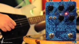 Bass Demo: Small Sound Big Sound Team Awesome Fuzz Machine