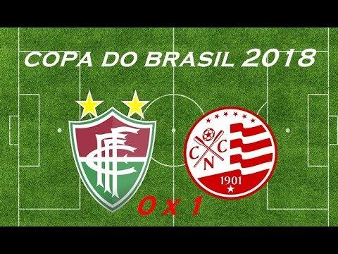 Fluminense de Feira 0 x 1 Náutico melhores momentos,Copa do Brasil  14.02.2018 - Myx 10