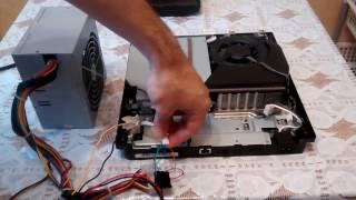 Заміна блоку живлення PS3 Slim і як підключити комп'ютерний блок живлення ATX